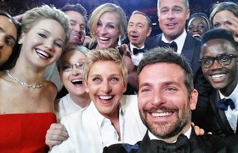 Angelina Jolie, Brad Pitt, Bradley Cooper, Kevin Spacey, Meryl Streep, Jared Leto, Julia Roberts, Jennifer Lawrence, etc.